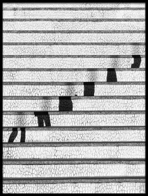 Art print titled Stairs by the artist Juan Luis Duran
