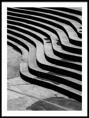 Buy this art print titled Stairs by the artist suleyman uzumcu