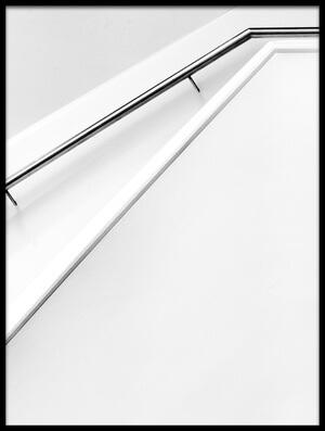 Buy this art print titled Stairs Lines by the artist Jeroen van de Wiel
