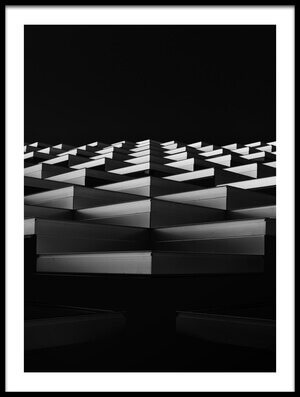 Art print titled Stairs to the Light by the artist Greetje van Son