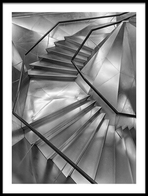 Buy this art print titled Stairscaixa Forum by the artist Secundino Losada