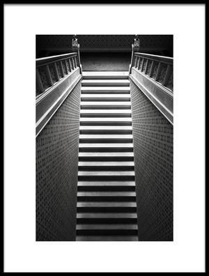 Buy this art print titled Stairway by the artist Bez Dan