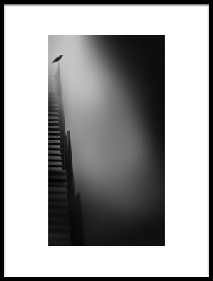 Art print titled Stairway to Heaven by the artist Nic Keller