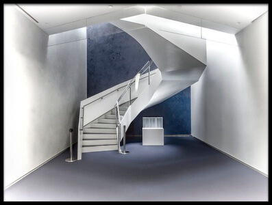 Art print titled Stairway to Heaven by the artist Fahad Abdualhameid