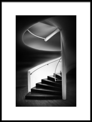 Art print titled Stairwell by the artist Marc Apers