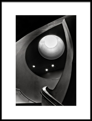 Art print titled Stairwell by the artist Wilma Wijers Smeets