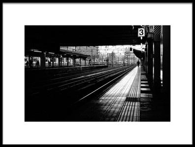 Buy this art print titled Station by the artist Yuki Tanimura