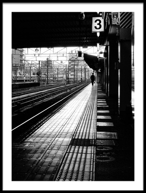 Art print titled Station by the artist Yuki Tanimura