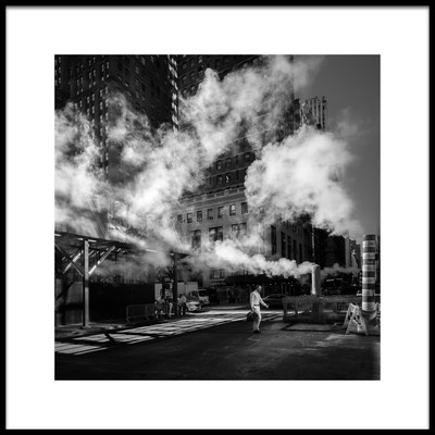 Art print titled Steaming by the artist Eduardo Marques