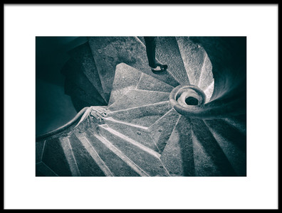 Art print titled Step by the artist Jure Kravanja