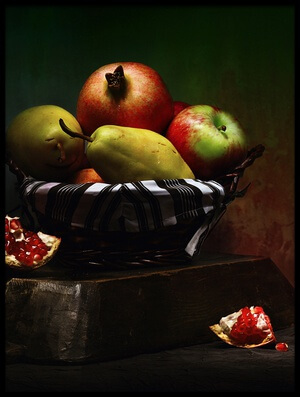 Buy this art print titled Still Life / Fruits by the artist Emine Basa