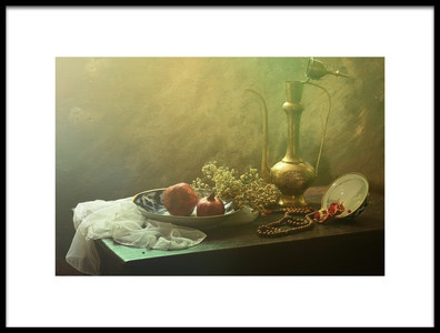 Art print titled Still Life In the Autumn Color by the artist UstinaGreen
