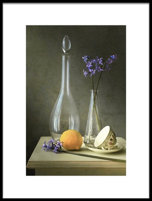 Buy this art print titled Still Life With Hyacinths by the artist Christian MARCEL