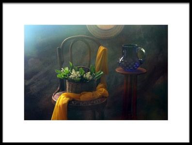 Art print titled Still Life With Lillies by the artist UstinaGreen