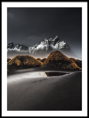 Buy this art print titled Stokksnes  ICELAND II by the artist benoit malaussena