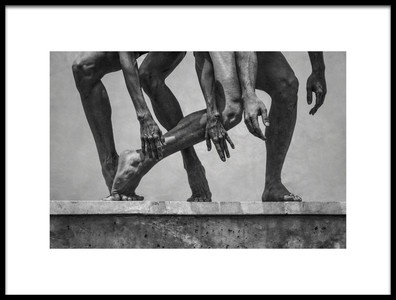 Art print titled Stone Dance by the artist Antonio Arcos aka fotonstudio