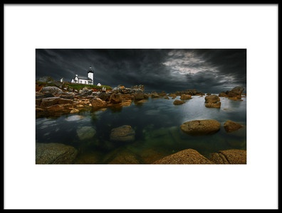 Art print titled Storm Is Coming by the artist Krzysztof Browko