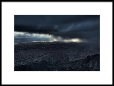 Buy this art print titled Storm Over Alburquerque by the artist Max Witjes