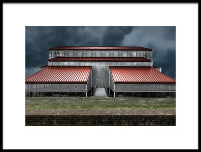 Art print titled Storms Coming by the artist Michiel Hageman