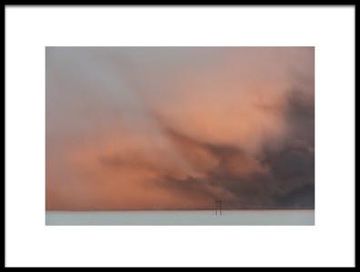 Art print titled Stormy Clouds by the artist 李从军 / Austin Li