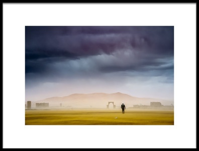 Art print titled Stormy With Guerlain Chicherit by the artist Tristan Shu