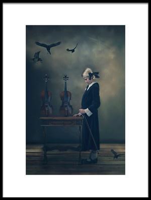 Art print titled Story by the artist Ewa Cwikla