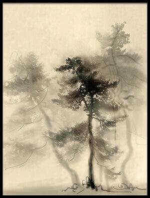 Buy this art print titled Strange Forest II by the artist Anna Kudriavtseva