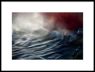 Art print titled Stream by the artist Willy Marthinussen