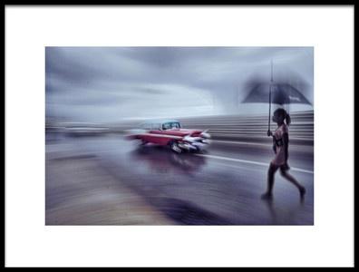 Art print titled Street Car by the artist Svetlin Yosifov
