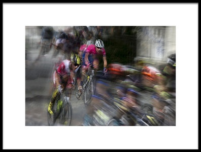 Art print titled Street Race by the artist milan malovrh