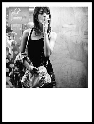 Buy this art print titled Street Smoker by the artist Tatsuo Suzuki