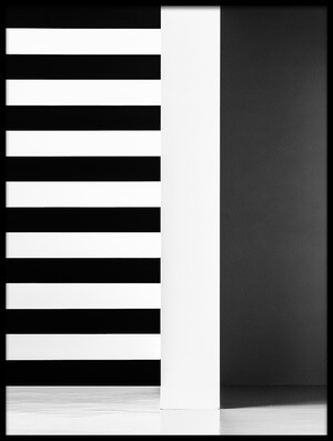 Art print titled Stripes and Shadows by the artist Inge Schuster