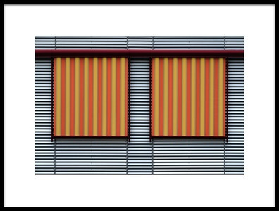 Art print titled Strips by the artist Rolf Endermann