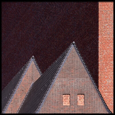 Art print titled Structures by the artist Klaus Lenzen