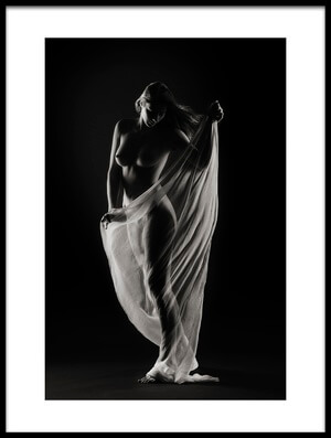 Art print titled Study In Darkness and Light #1 by the artist Shades and Light