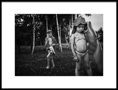 Buy this art print titled Summertime Scene by the artist Monika Strzelecka