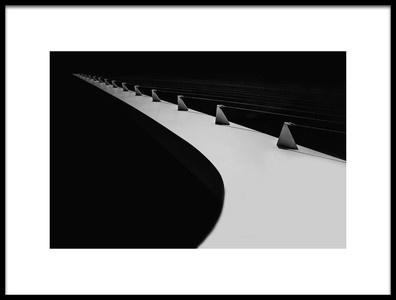 Art print titled Sundial Bridge In Redding, California by the artist Jenny Qiu