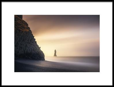 Buy this art print titled Sunrise In Reynisfjara by the artist Jorge Ruiz Dueso