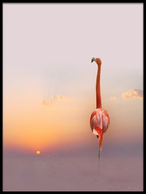 Buy this art print titled Sunset  by the artist Anna Cseresnjes