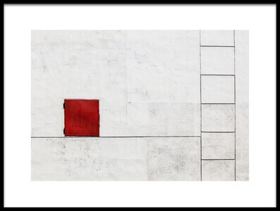 Art print titled Suprematism Is All Around by the artist Ksenia Voeykova