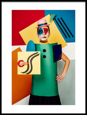 Buy this art print titled Suprematist Portrait of Lena Naymkina by the artist Sergei Smirnov
