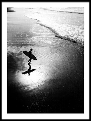 Buy this art print titled Surfer by the artist Massimo Della Latta