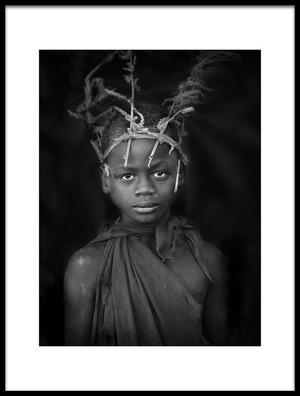 Art print titled Suri Boy by the artist Jose Beut