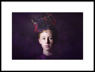 Art print titled Sweet Purple by the artist Carola Kayen-Mouthaan