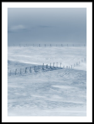 Art print titled Swept by the Wind by the artist Christian Duguay