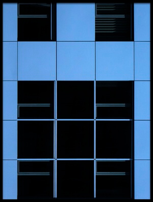 Buy this art print titled Symphony In Blue by the artist Jef Van den Houte