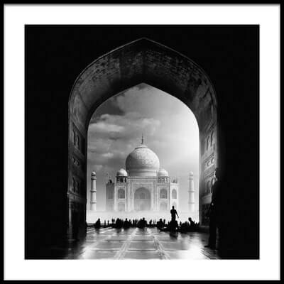 Buy this art print titled Taj Mahal by the artist Hussain buhligaha