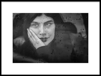 Art print titled Take a Glass of Emotions by the artist Hossein Farsad