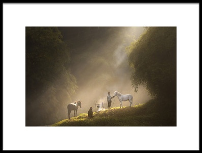 Art print titled Take a Rest by the artist deny prasetiyo