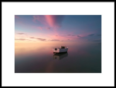 Buy this art print titled Tarragona Delta Del Ebre Alone by the artist joanaduenas